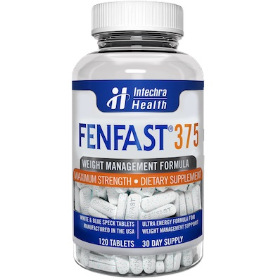 No Beta Phenylethylamine in FENFAST 375 Proprietary Formula